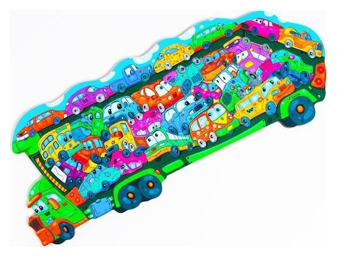 Пазл «Автовоз», бизиборды КНР