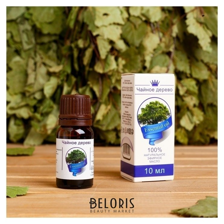 Эфирное масло Чайное дерево, флакон-капельница, аннотация, 10 мл, дезинфицирующее NNB