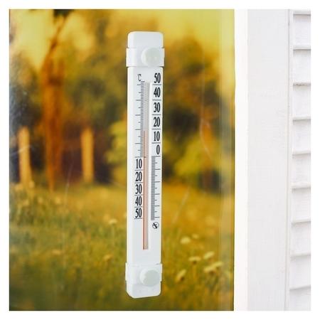 """Пластиковый термометр оконный """"Солнечный зонтик"""" в блистере ( -50 -+50)  NNB"""