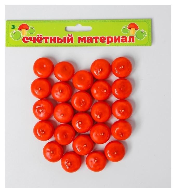 """Счётный набор """"Мандарины"""", 24 шт., мандарин 2,5 × 2,5 см  NNB"""
