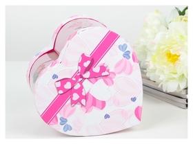 Коробка подарочная со светодиодом 15 х 12 х 15 Love
