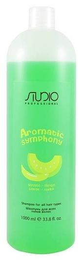 """Шампунь для всех типов волос """"Банан и дыня"""" серии Aromatic Symphony  Kapous Professional"""