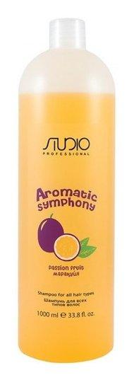 """Шампунь для всех типов волос """"Маракуйя"""" серии Aromatic Symphony  Kapous Professional"""