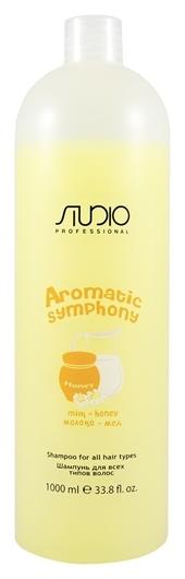 """Шампунь для всех типов волос """"Молоко и мед"""" серии Aromatic Symphony  Kapous Professional"""
