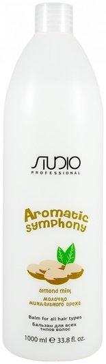 """Бальзам для всех типов волос """"Молочко миндального ореха"""" серии Aromatic Symphony  Kapous Professional"""