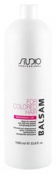 Бальзам для окрашенных волос с рисовыми протеинами и экстрактом женьшеня
