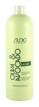 Бальзам увлажняющий для волос с маслами авокадо и оливы  Kapous Professional