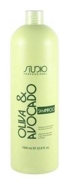 Шампунь увлажняющий для волос с маслами авокадо и оливы Kapous Professional Studio Professional