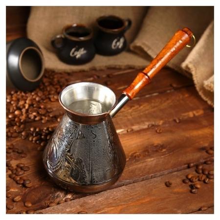 Турка для кофе медная «Русский дух», 0,75 л  NNB