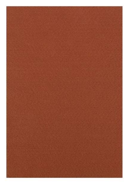 """Фетр """"Soft""""набор 10 листов, 2мм, 21х29,7 см ( коричневый)  Рукоделие"""