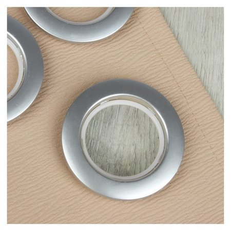 Люверсы для штор, D = 4,1/7,5 см, 10 шт, цвет серебряный  NNB