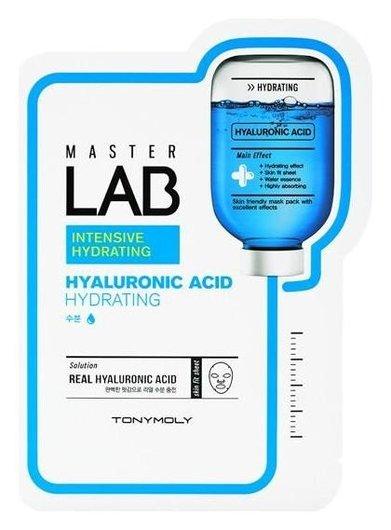 Маска увлажняющая с гиалуроновой кислотой Master Lab Hyaluronic Acid Mask Sheet  Tony Moly