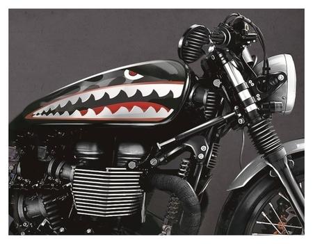 Набор наклеек на мотоцикл Shark, 2 шт  NNB