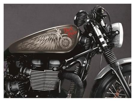 Набор наклеек на мотоцикл Dark Rider, 2 шт  NNB