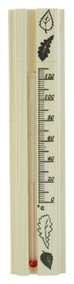 Термометр для бани, жидкостный, 200х42х18мм  Первый термометровый завод