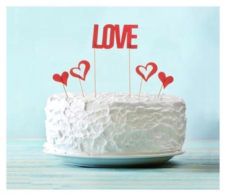 Набор для украшения торта Love  NNB