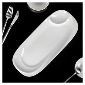 Блюдо с соусником «Белль»  Magistro