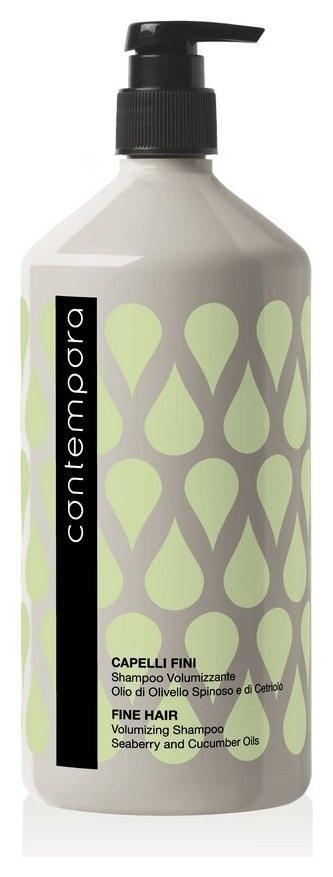 Шампунь для придания объема с маслом облепихи и огуречным маслом  Barex Italiana