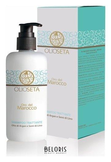 Питательный шампунь с маслом арганы и маслом семян льна Barex Italiana Olioseta Oro Del Marocco