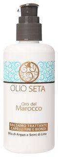 Увлажняющий кондиционер для тонких и светлых волос с маслом арганы и семян льна  Barex Italiana