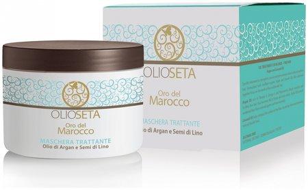 Питательная маска с маслом арганы и маслом семян льна  Barex Italiana