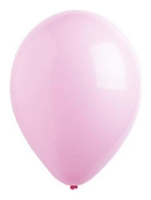 """Шар латексный 12"""", стандарт, набор 50 шт., цвет розовый  Everts"""