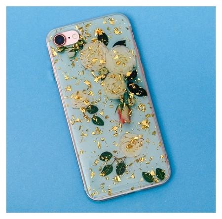 Чехол для телефона Iphone 7 с фольгированием «Нежность», 6.5 × 14 см  NNB