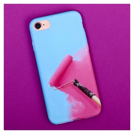 Чехол для телефона Iphone 7 «Раскрась», Soft Touch 6.5 × 14 см  NNB