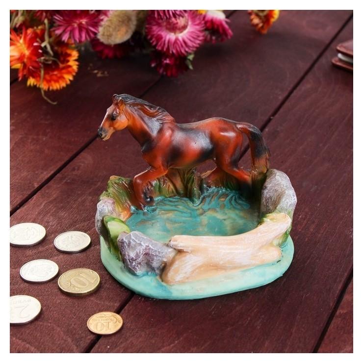 Монетница Конь на бегу, 10х11 см NNB