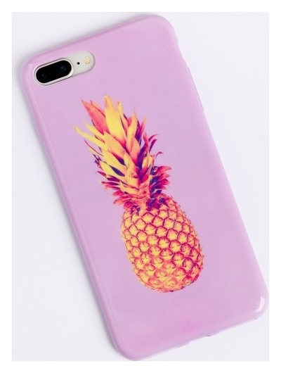 Чехол для телефона Iphone 7 Plus/8 Plus «Ананас», 16 × 8 см  NNB