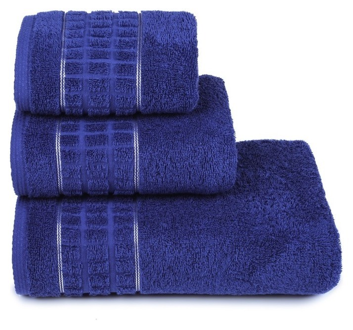 Полотенце махровое «Megapolis» 50х90 см, цвет фиолетовый, 400 гр/м2  Cleanelly