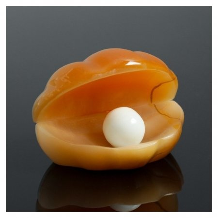 Сувенир «Жемчужина», 6×4,5 см, селенит