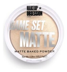 Пудра для лица матирующая Game Set Matte Makeup Obsession