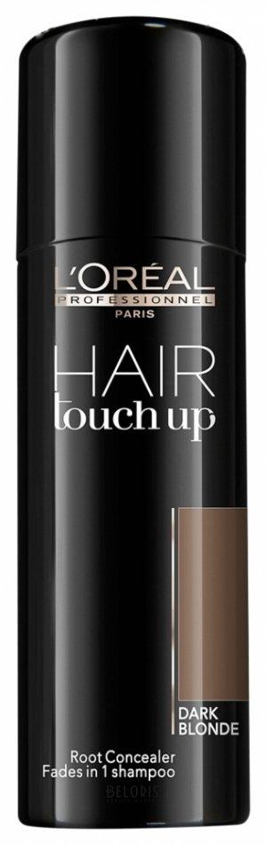 Купить Консилер для волос L'oreal Professionnel, Консилер-спрей тонирующий Hair Touch Up, Испания, Тон 6-7 Темный блонд
