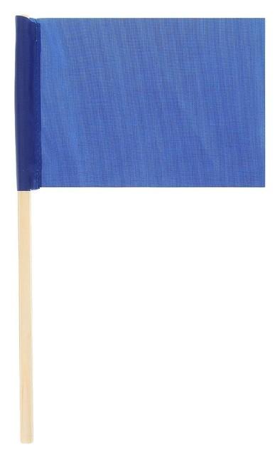 Флажок длина 25 см, 10x15, цвет синий  NNB