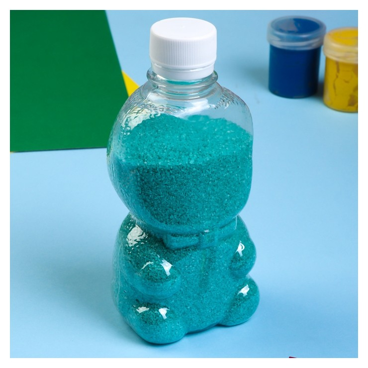 """Песок цветной в бутылках """"Тиффани"""" 500 гр  NNB"""