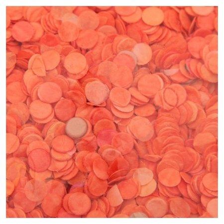 Конфетти, 0,5 мм, 20 г, цвет оранжевый  Пати Бум