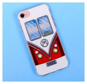 Чехол для телефона Iphone 7 с рельефным нанесением Free, 6.5 × 14 см  NNB