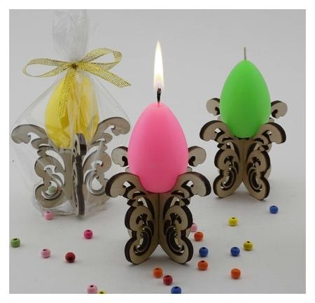 Декоративная свеча Пасхальные кружева  NNB