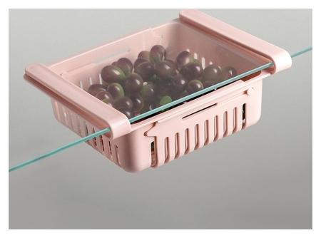 Полка подвесная в холодильник, раздвижная 23(28)×16,5×8 см  NNB