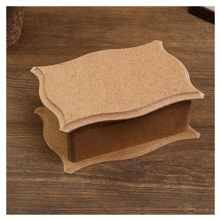 Шкатулка для декора 16х11,5х6 см  NNB