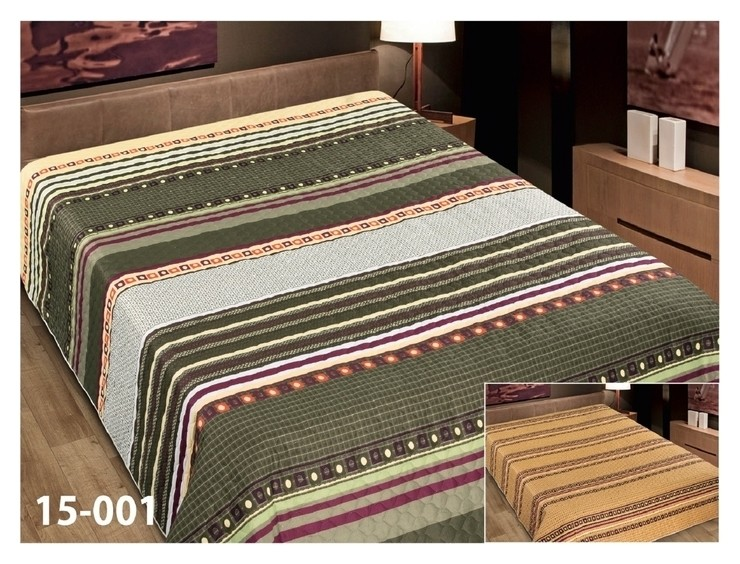Покрывало двустороннее Marianna элегант, 180х220 см, п/э100%  Marianna