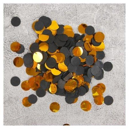 Конфетти «Золото», 20 г, D=1,1 см  Пати Бум
