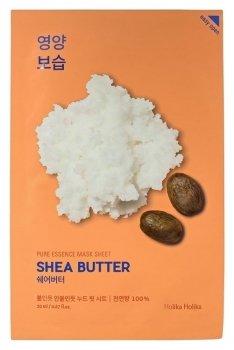 """Питающая тканевая маска для лица с маслом ши """"Pure Essence Mask Sheet Shea Butter"""""""