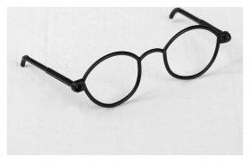 Очки для игрушек, набор 4 шт., цвет чёрный  NNB