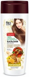 Бальзам для всех типов волос «Горчичный» с маслом зародышей пшеницы и медом