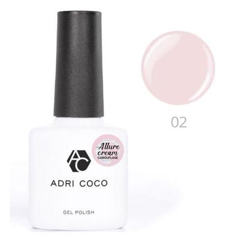 Гель-лак камуфлирующий Allure сream Тон №02 Нежно-розовый