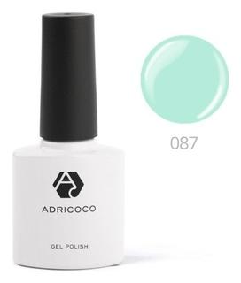 Цветной гель-лак Adricoco №087 нежно-мятный, 8 мл  ADRICOCO