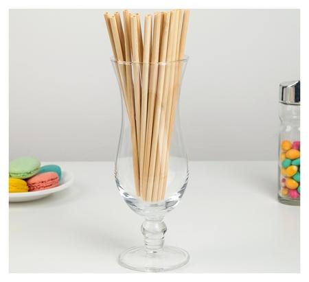 Набор бамбуковых трубочек для коктейлей «Панда», 20×0,3 см  NNB