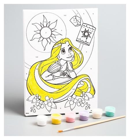 Роспись по холсту «Мечты сбудутся», 21 х 15 см, принцессы: рапунцель  Disney